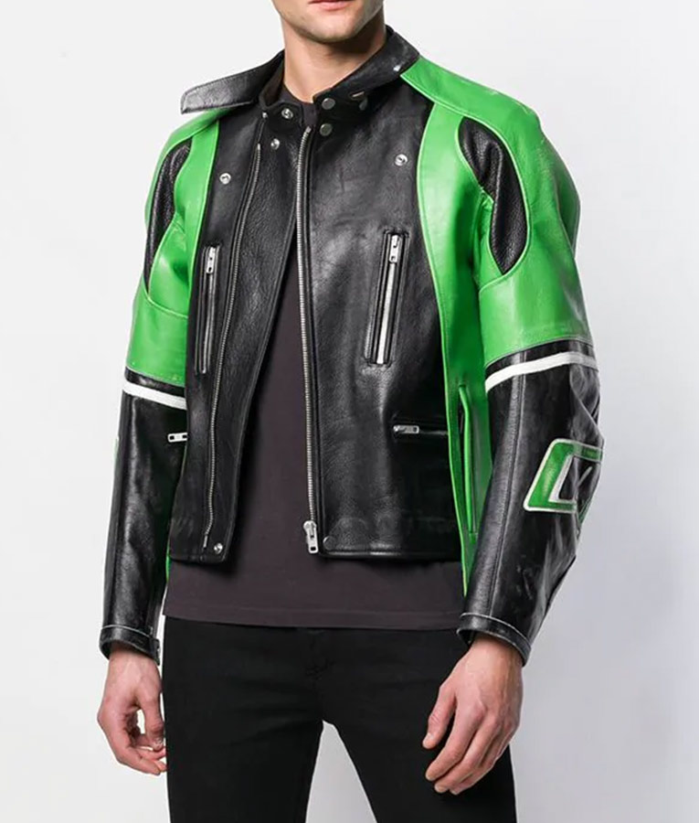 Slimfit Cafe Racer Leather Jacket