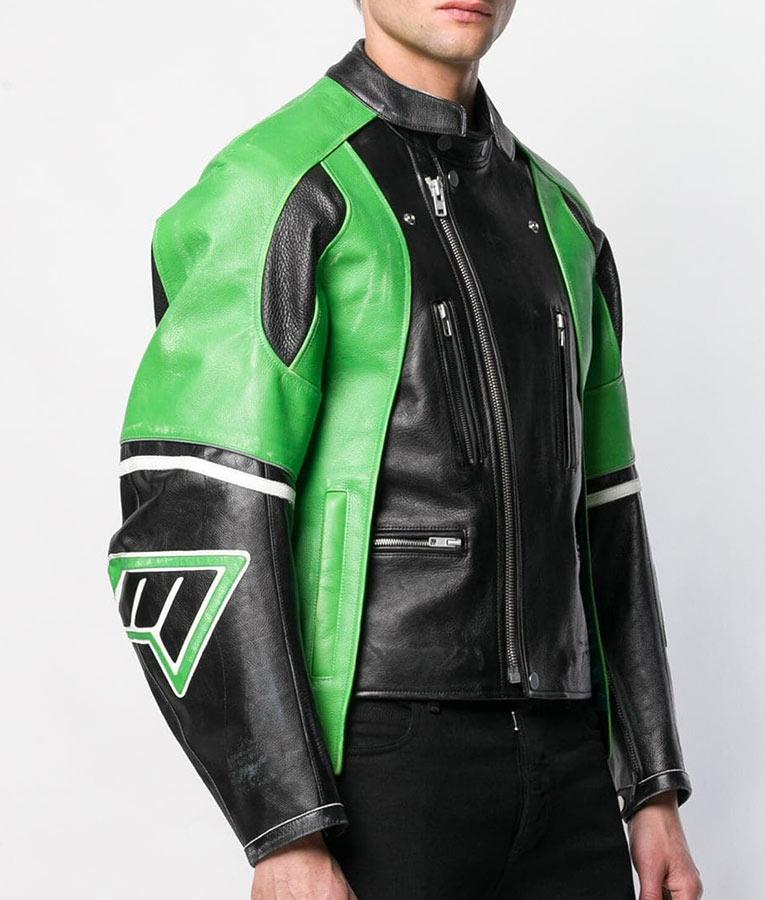 Slimfit Cafe Racer Leather Jacket