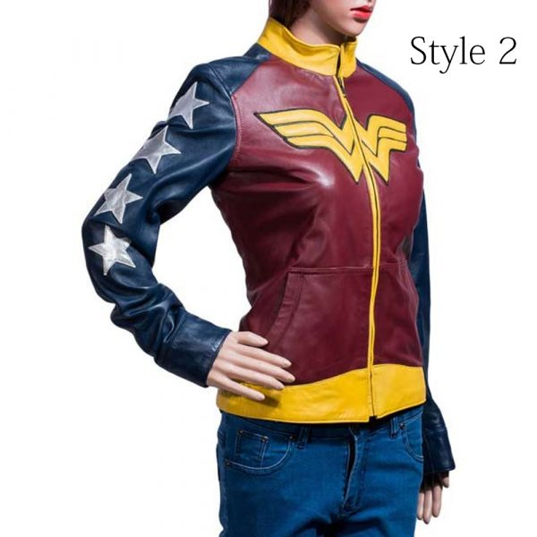Wonder Woman simple back Jacket