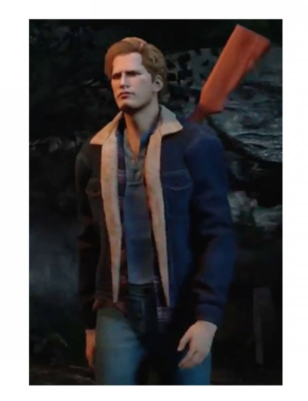Tommy Jarvis Blue Denim Jacket