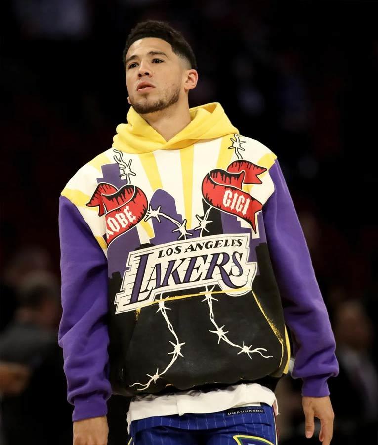Devin Booker Lakers Kobe Forever Hoodie
