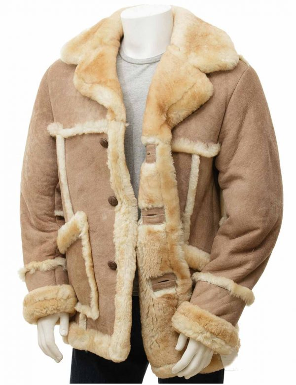 Mens Sheepskin Coat