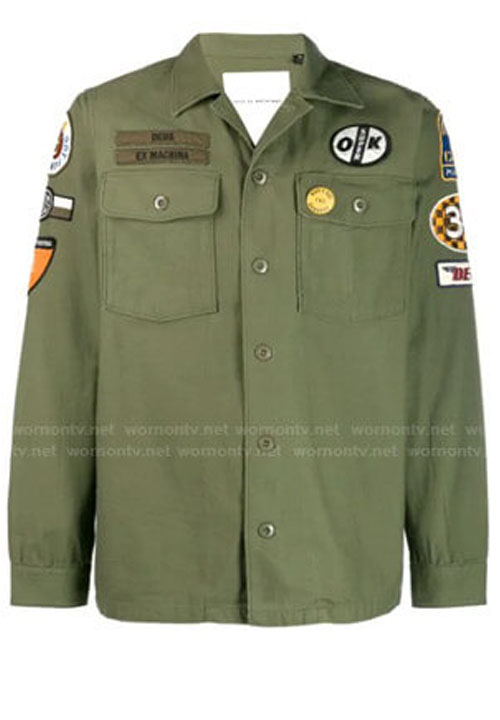 Anthony Anderson Black-ish Andre 'Dre' Johnson Green Military Cotton Jacket
