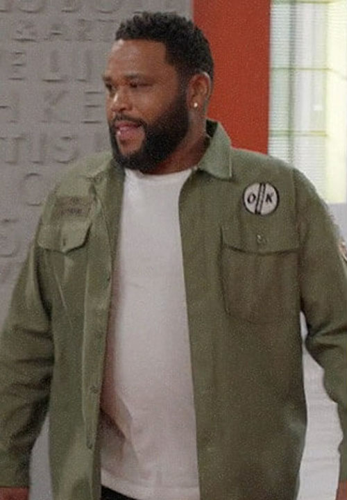 Andre 'Dre' Johnson Black-ish Military Shirt Jacket