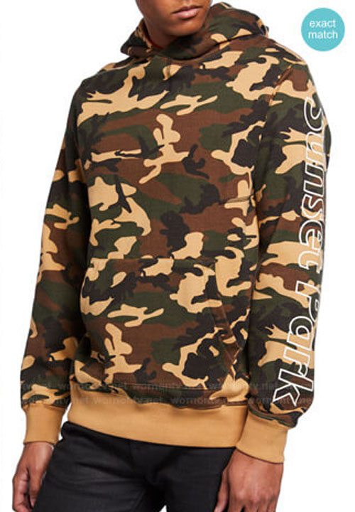 Andre 'Dre' Johnson Black-ish Camo Pullover Anthony Anderson Hoodie
