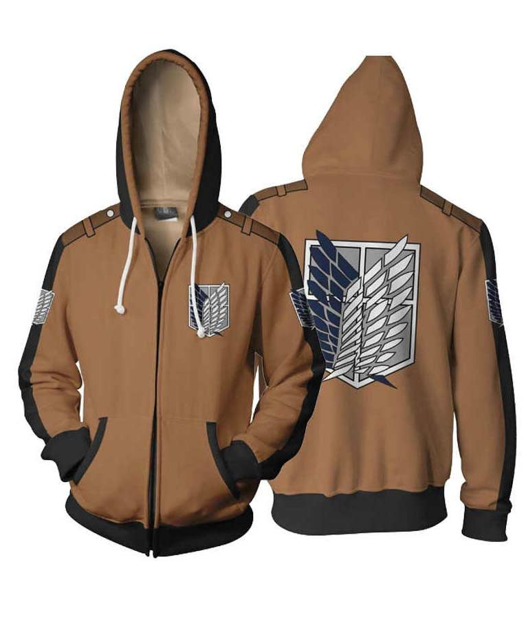 Attack On Titan Legion Logo Hoodie Jacket