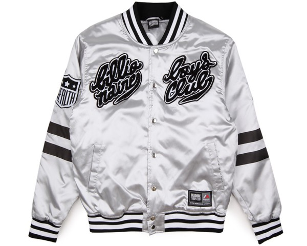 BBC x Majestic Eva Stadium Varisty Jacket