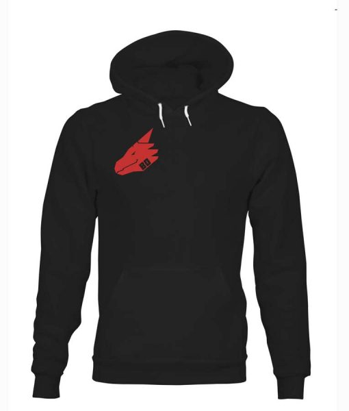 Bad Dragon Red Logo Hoodie For Sale