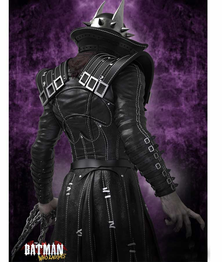 The Batman Who Laughs Leather Coat