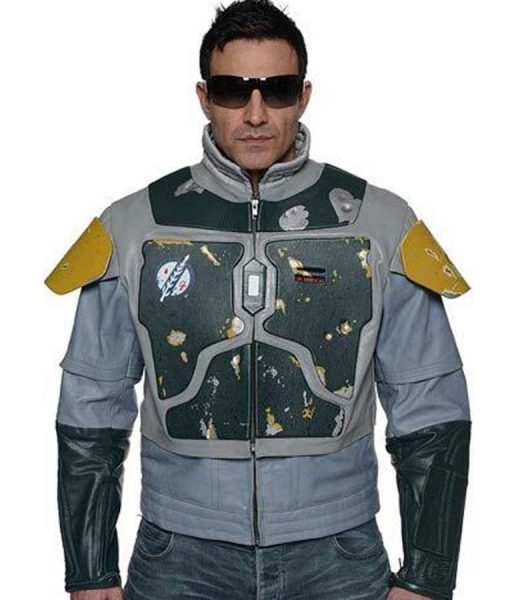 Star Wars The Mandalorian Season 02 Boba Fett Leather Jacket