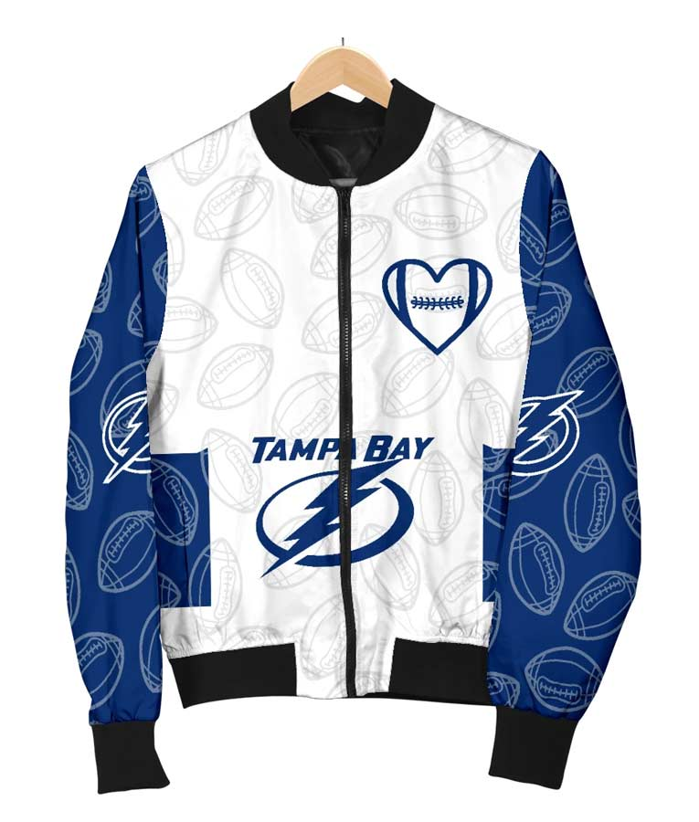 Bomber Tampa Bay Lightning Jacket NHL