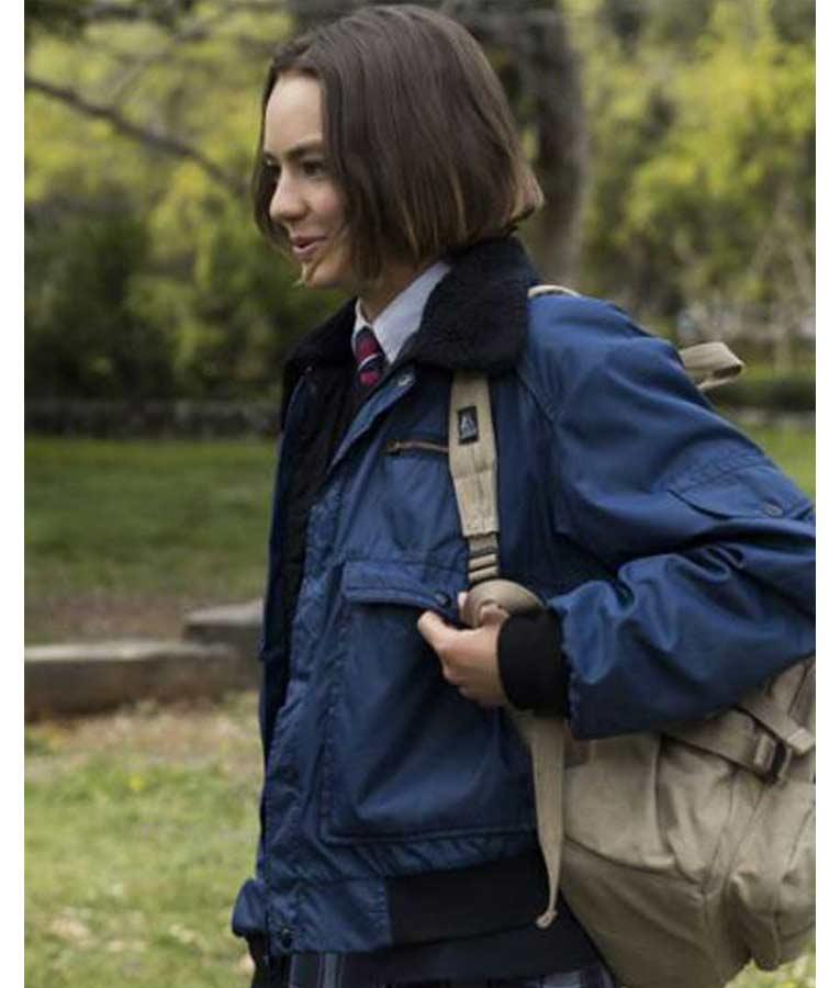 Casey Gardner Bomber Jacket Atypical S04