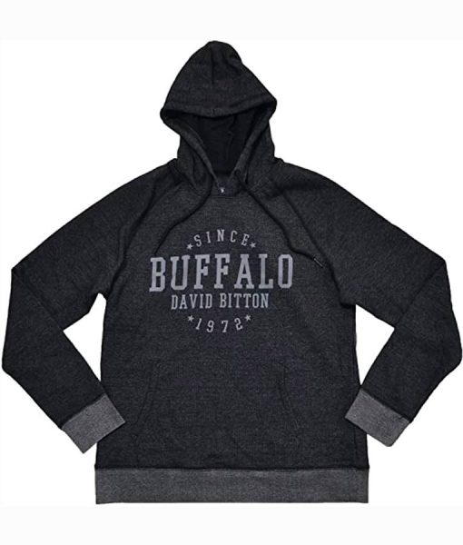 David Bitton Pullover Grey Hoodie