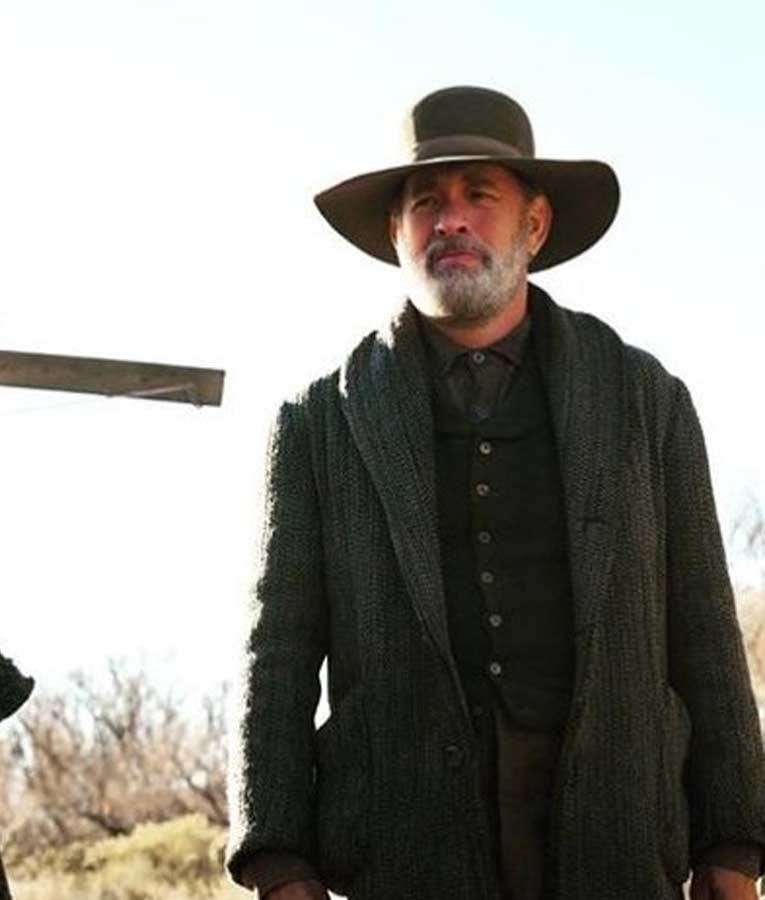 Tom Hanks News Of The World Captain Jefferson Kyle Kidd Coat