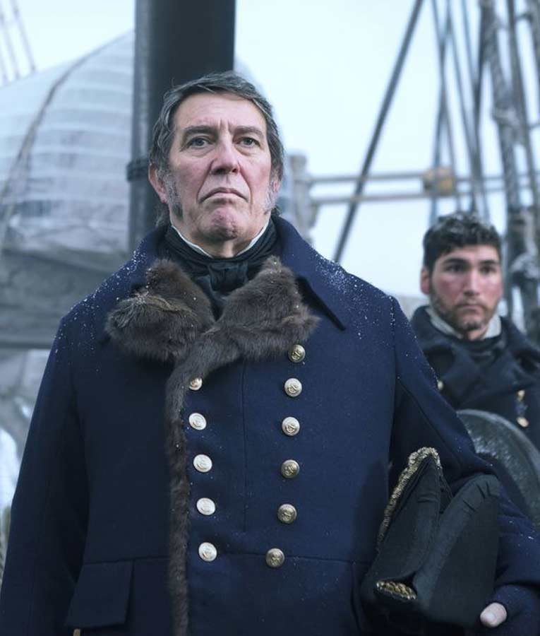 Ciarán Hinds The Terror Coat