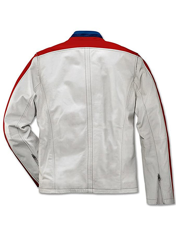 BMW Classical Leather Jacket for Mens