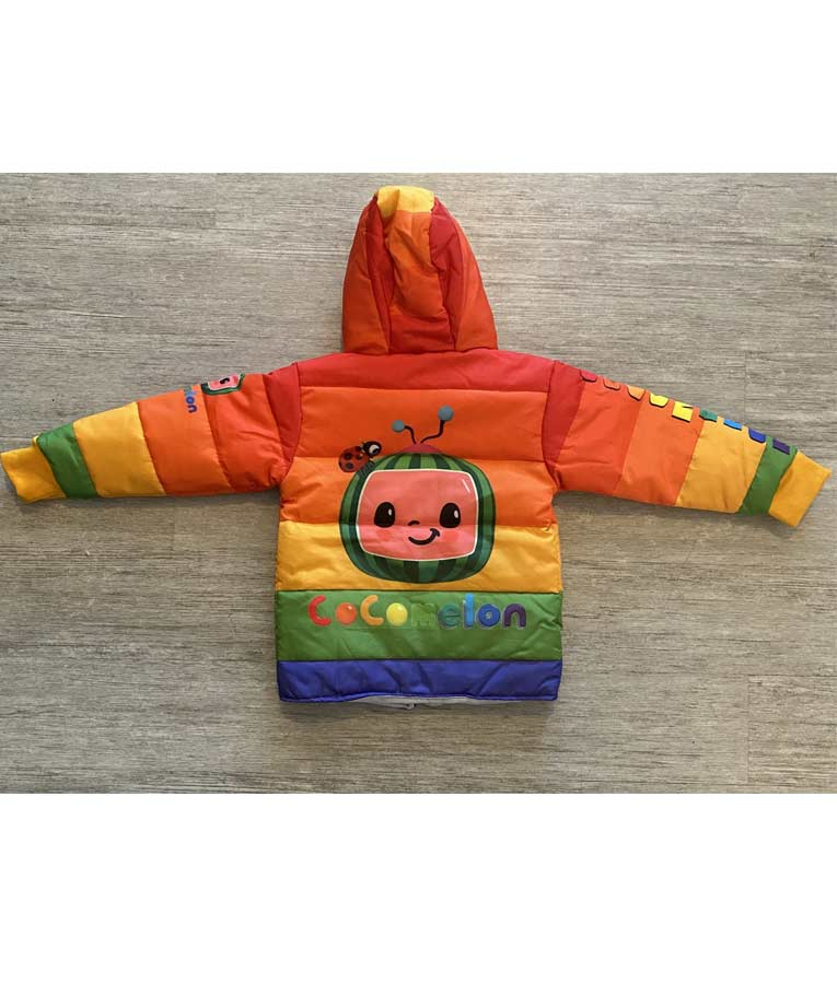Cocomelon Puffer Jacket For Kids, Men's, and Women's