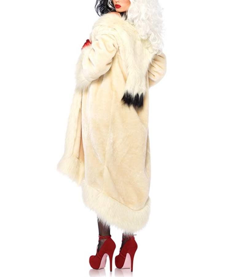 Cruella Deville Fur Coat