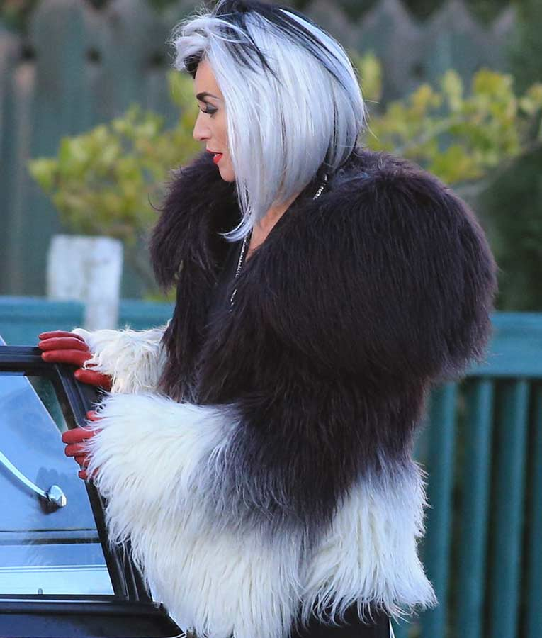 Once Upon a Time Cruella Deville Fur Jacket