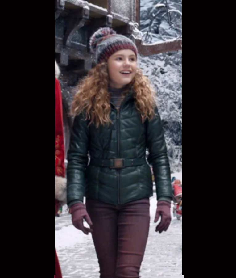 The Christmas Chronicles 2 Darby Camp Green Kate Jacket