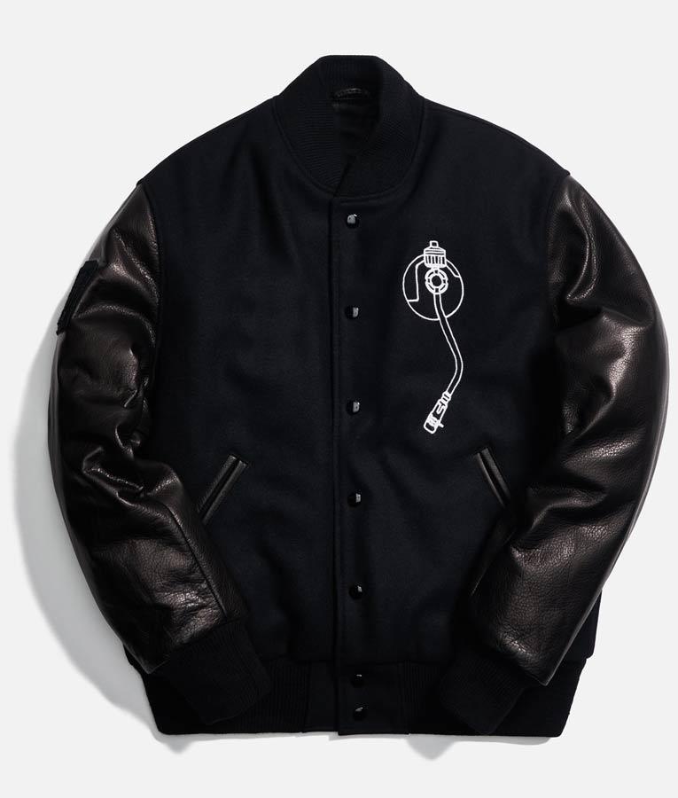 Def Jam Recording Varsity Black Bomber Jacket