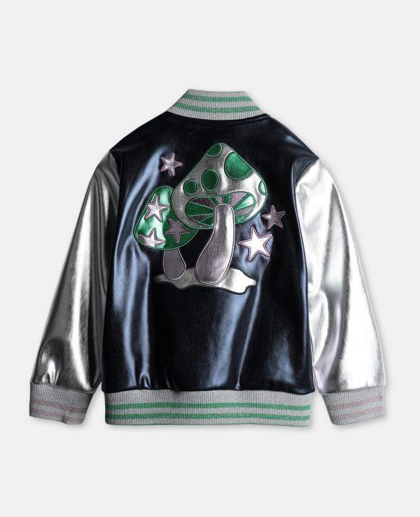 Diane Johnson Black-ish Marsai Martin Metallic Varsity Jacket