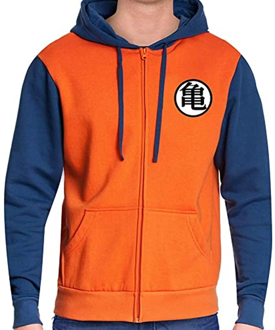 Dragon Ball Z Vegeta Orange Goku Hoodie