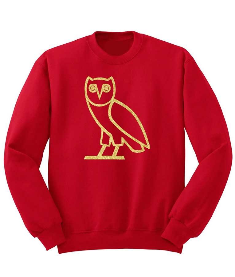 OVOXO Drake Crewneck Sweatshirt