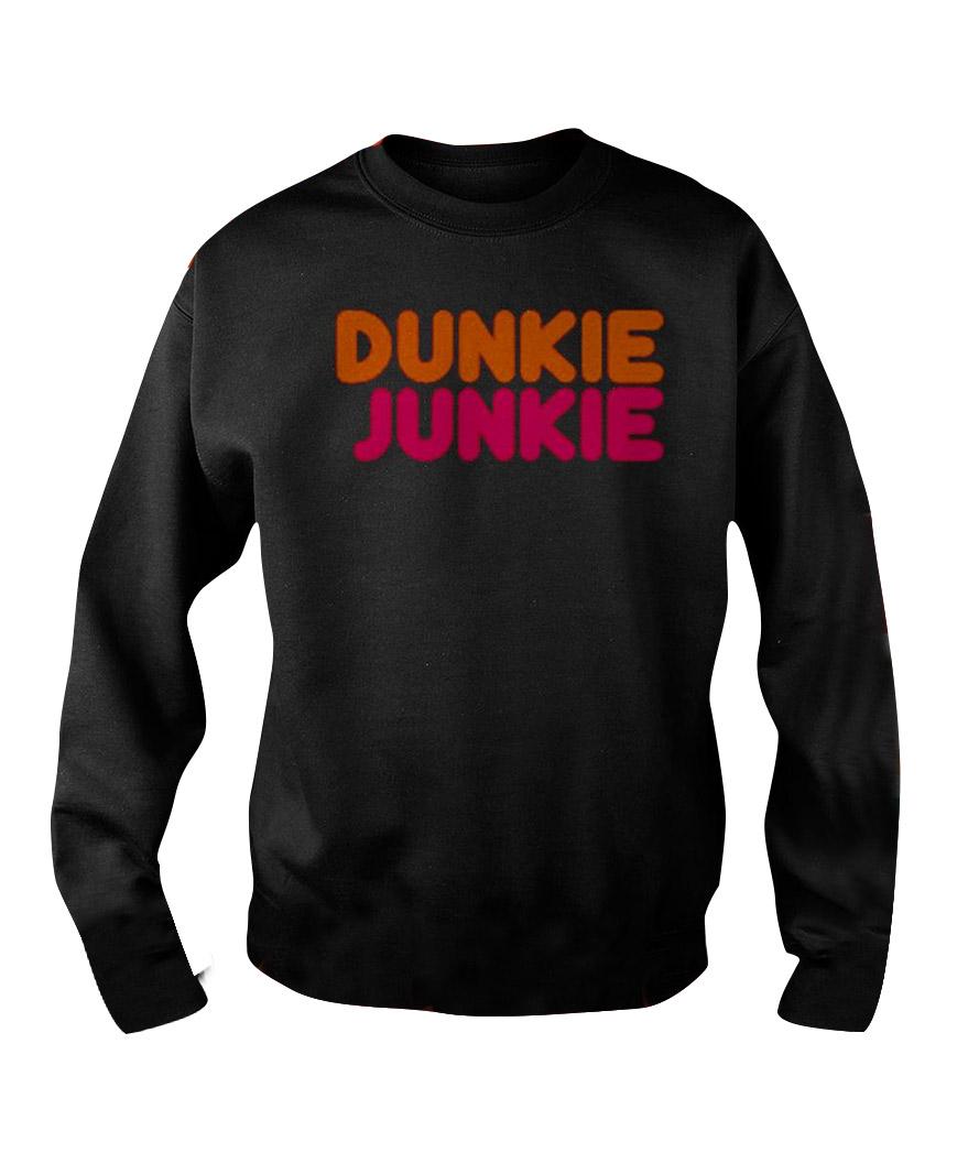 Dunkie Junkie Black Sweatshirt