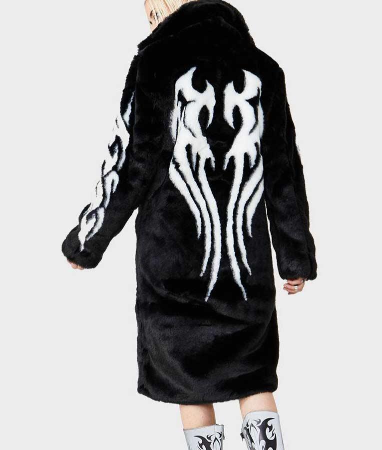 Women's Fallen Angel Faux Fur Coat