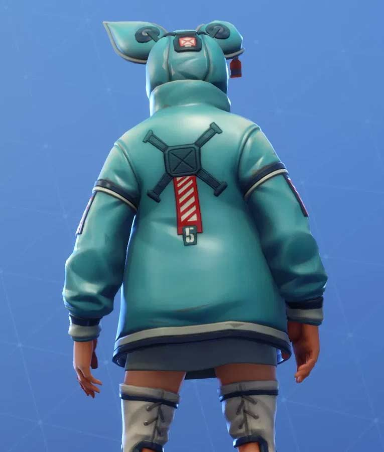 Fortnite Flapjackie Leather Jacket