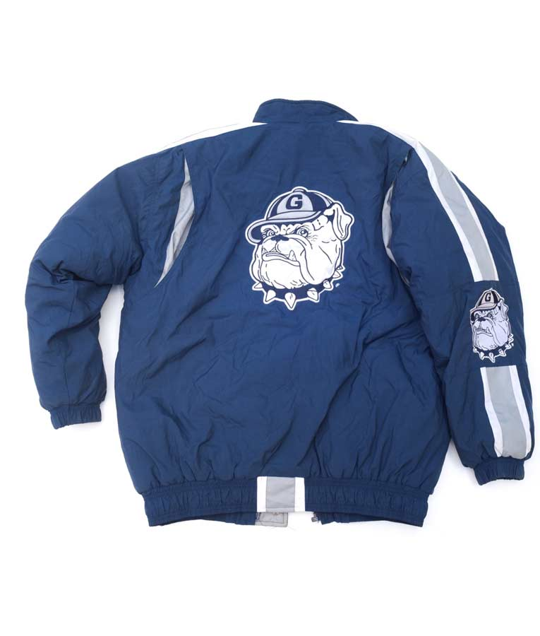 Georgetown Starter Blue Bomber Style Jacket