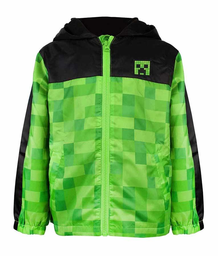 Minecraft Green Pullover Hoodie