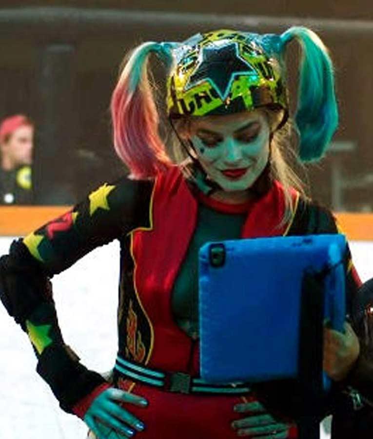 Margot Robbie Birds of Prey Harley Quinn Roller Derby Jacket