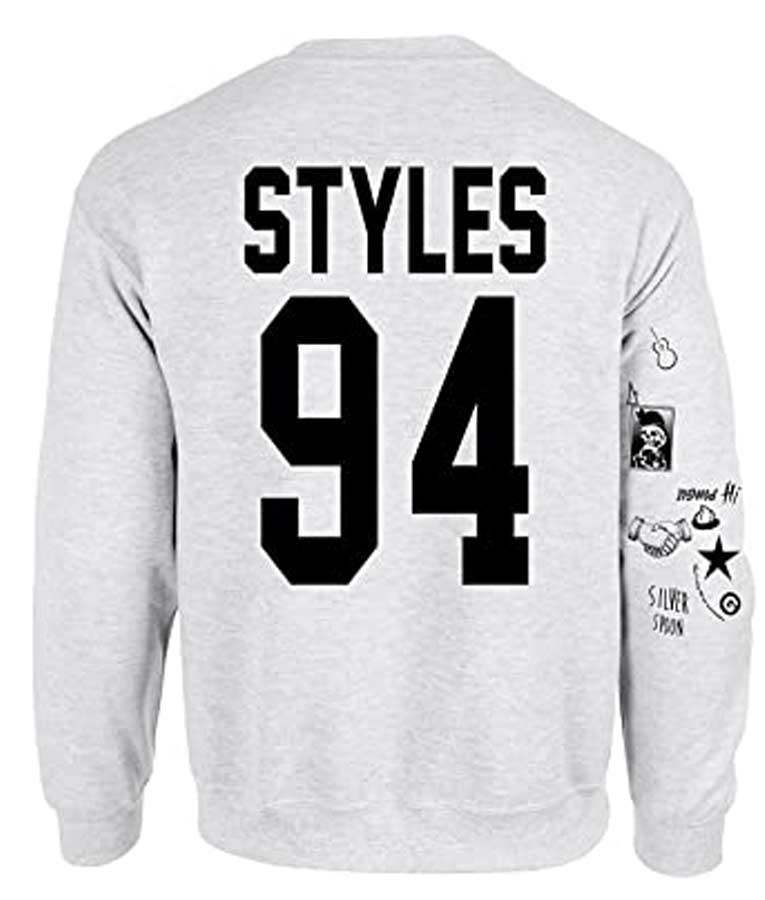 Harry Styles Tattoo Crewneck Sweatshirt