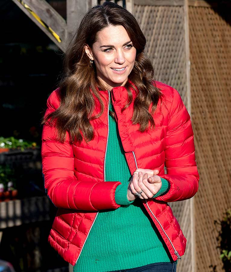 Kate Middleton's Christmas Red Jacket