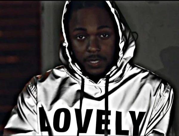 Kendrick Lamar Lovely Silver Hoodie