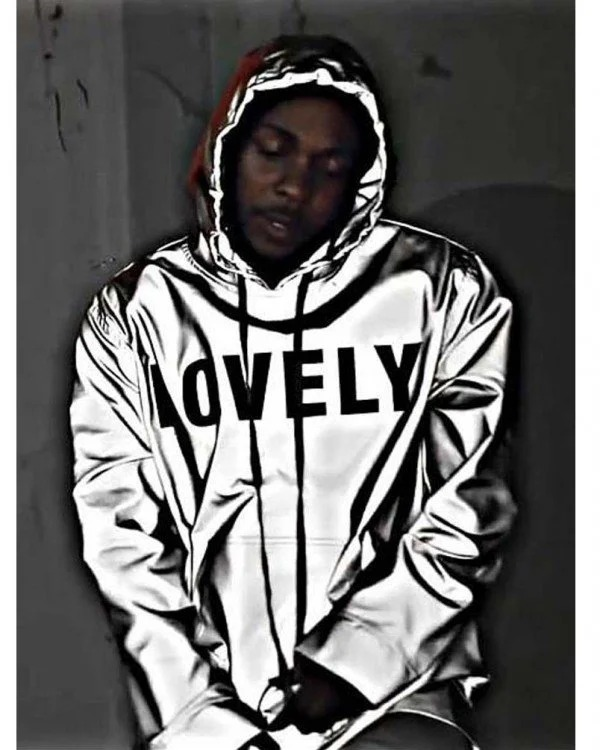 Silver Kendrick Lamar Lovely Jacket