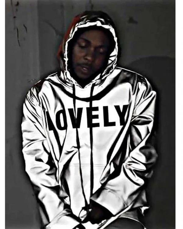Silver Kendrick Lamar Lovely Jacket