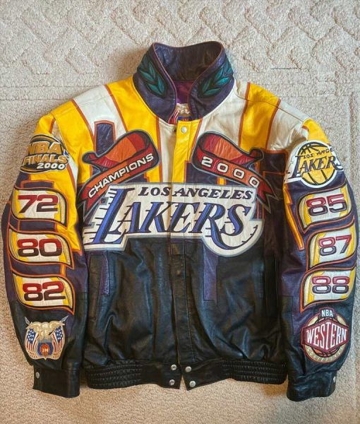 jacket Lakers Championship