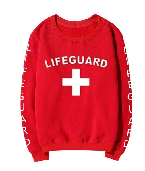 Lifeguard Red Unisex Sweatshirt