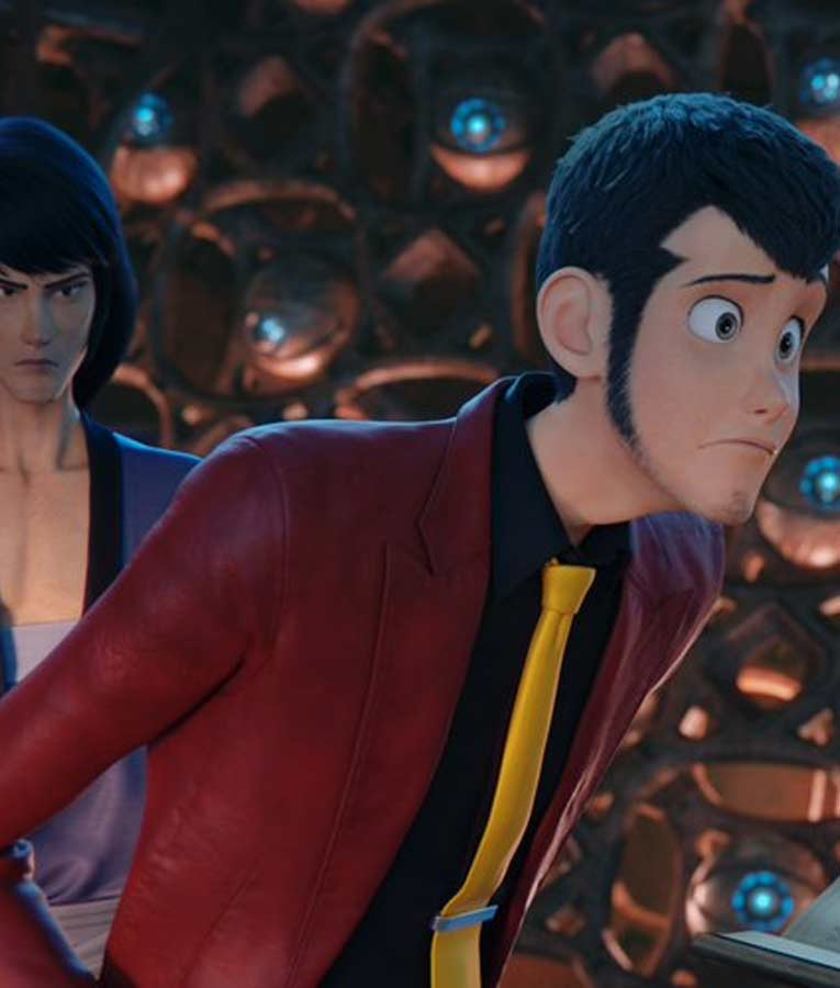 Lupin III The First Arsene Lupin III Blazer