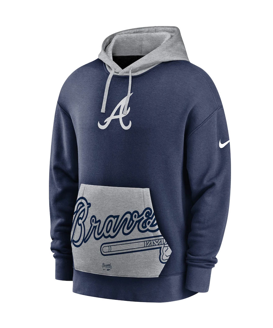 Atlanta Braves Baseball team Unisex Pullover Hoodie