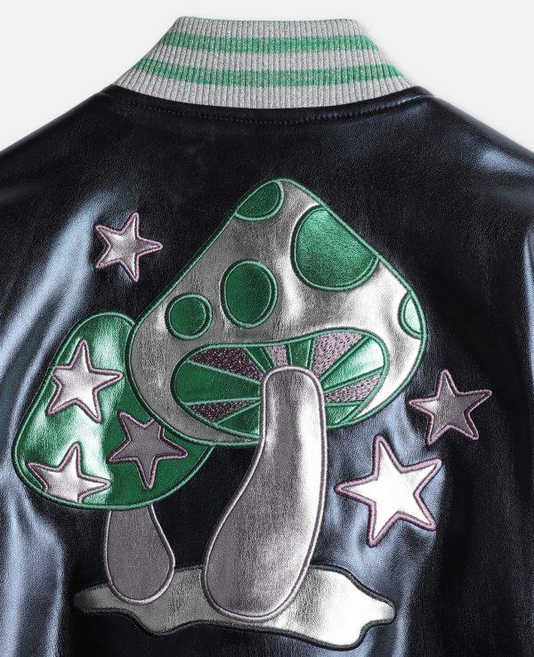 Marsai Martin TV Series Black-ish Metallic Patch Varsity Jacket