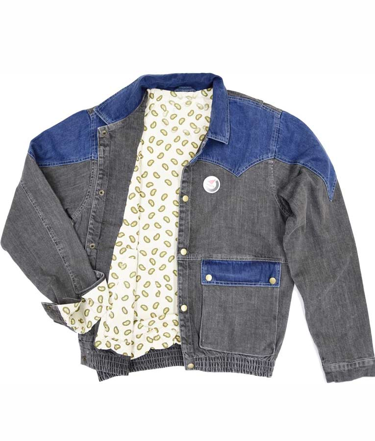 Back to The Future Michael J. Fox Denim Jacket