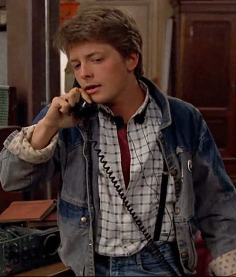 Marty McFly's Denim Jacket