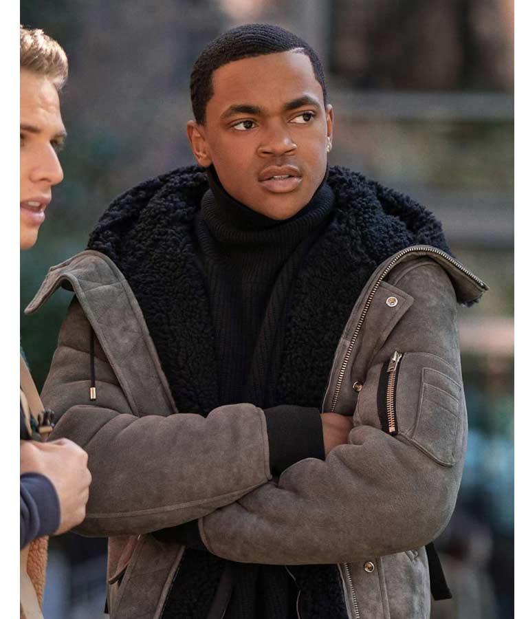 Tariq St. Patrick TV Series Power Book II Hooded Jacket