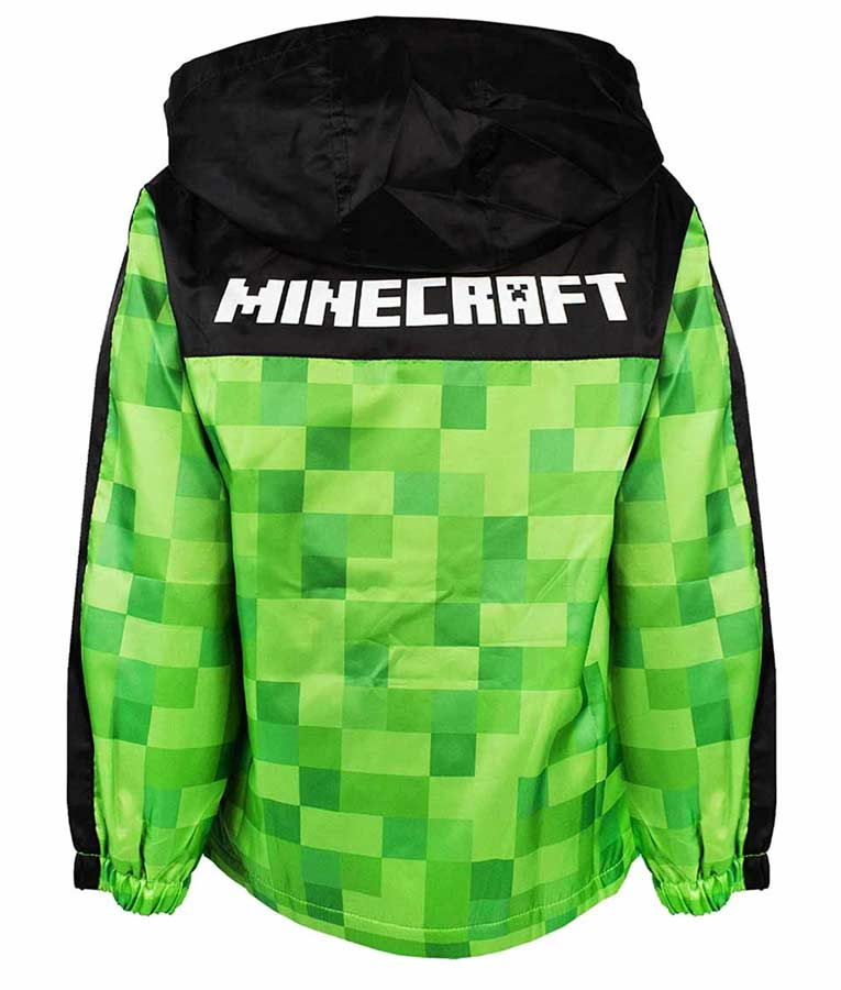 Green And Black Checkered Pullover Minecraft Hoodie
