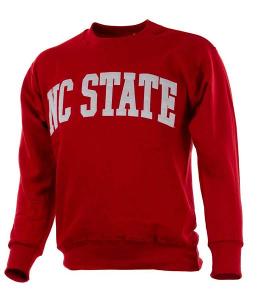 NC State Crewneck Red Sweatshirt