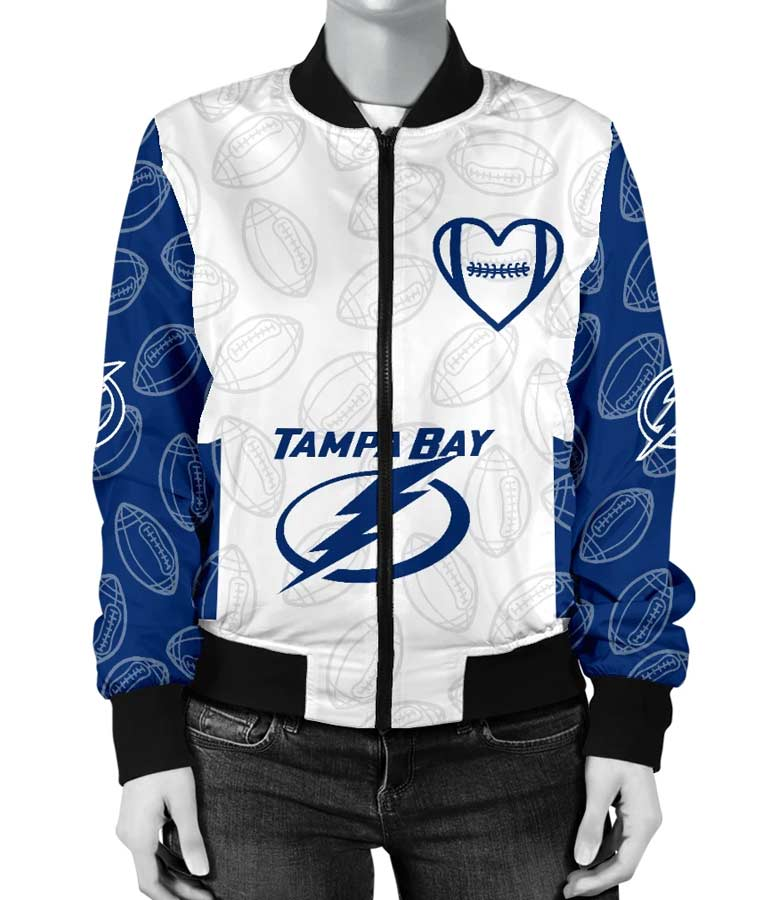 Tampa Bay Lightning Jacket Bomber